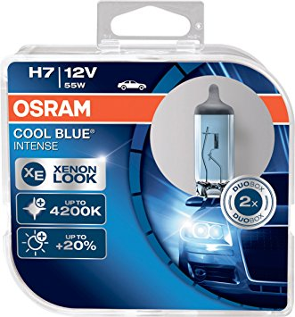 OSRAM H7 12V 55W COOL BLUE INTENSE