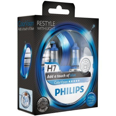 PHILIPS H7 12V 55W ULTRA BLUE LIGHT