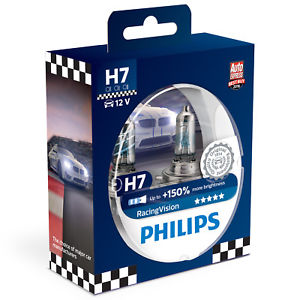 PHILIPS H7 12V 55W RACER VISION PLUS 150%