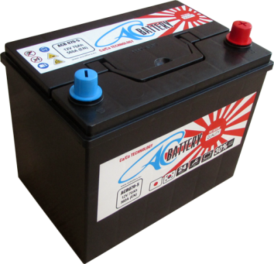 Акумулатор 12V AC Battery 70AH 560A R+ Jap/Asia Thin