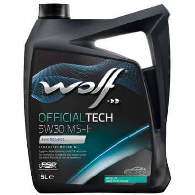 WOLF OFFICIALTECH 5W-30 MS-F 5L