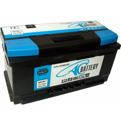 Акумулатор 12V AC Battery 100AH 820A R+