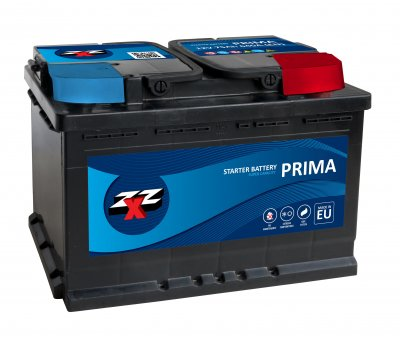 ZXZ PRIMA SMF 95AH 780A 12V RIGHT PLUS