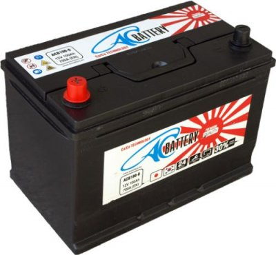 Акумулатор 12V AC Battery 100Ah 730A L+ Jap/Asia Thin